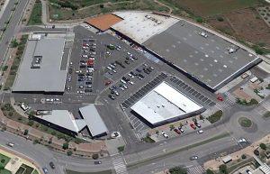 construcción centro comercial en motril
